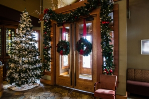Enjoy holiday dining at Greg's Grill Restaurant in Bend, Oregon's Old Mill District