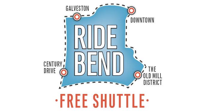 Free Shuttle Bus Service in Bend!